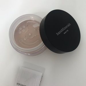 Bare minerals soft matte mineral foundation